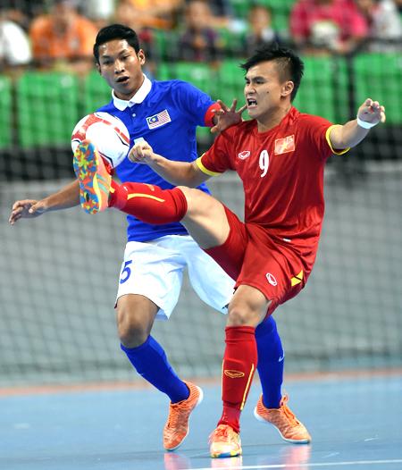 Futsal Việt Nam trắng tay tại giải Đông Nam Á