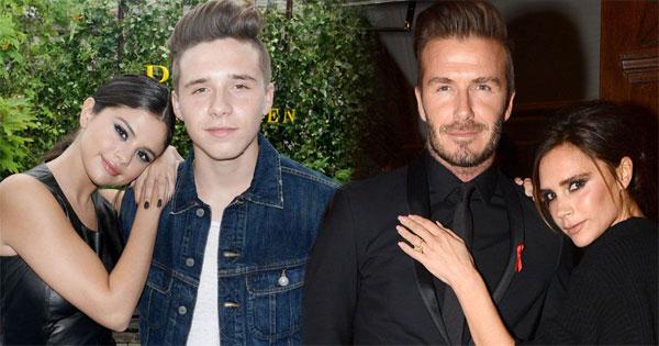 Selena Gomez thân mật bên Brooklyn khiến nhiều người liên tưởng tới cách tạo dáng quen thuộc của Vic bên chồng