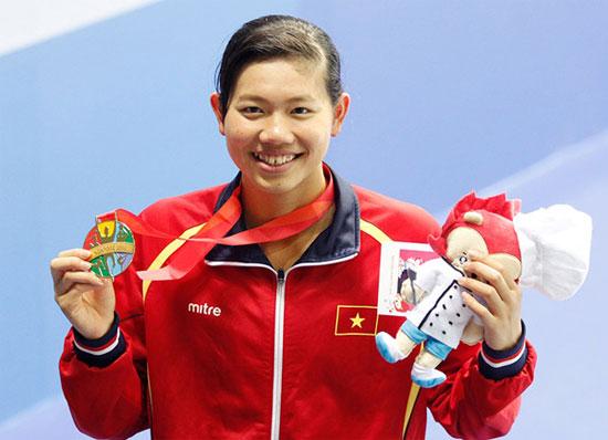 Ánh Viên giành 70 huy chương chỉ trong một năm - Ảnh 1