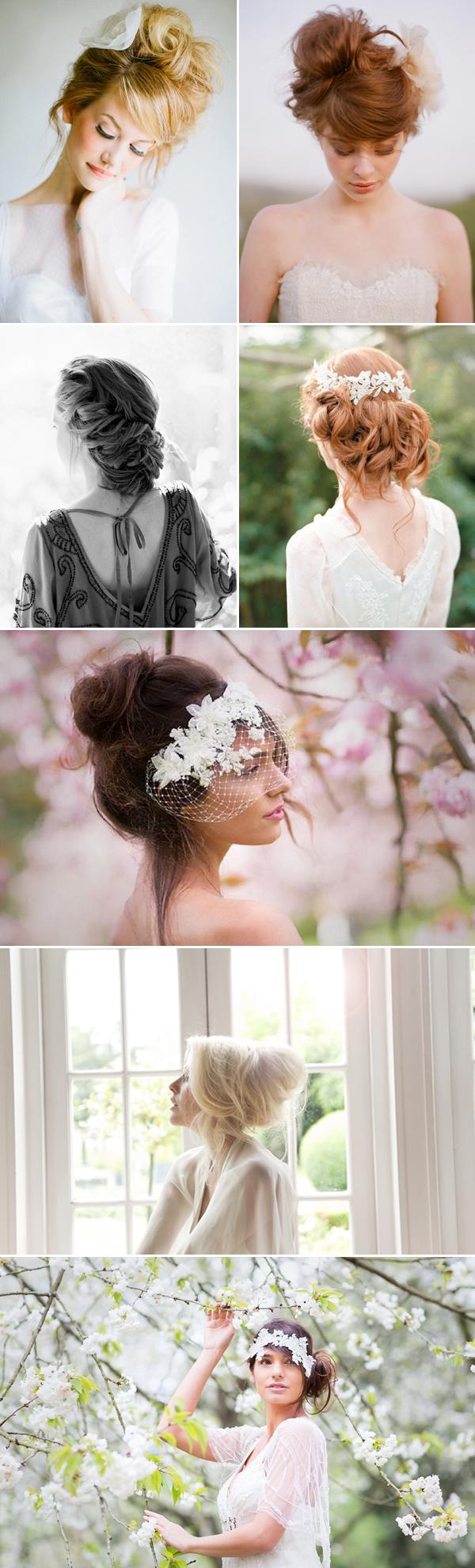 4 kiểu tóc cô dâu không quá cầu kỳ mà lãng mạn