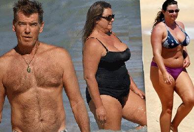 'Điệp viên 007' Pierce Brosnan dọa ly hôn nếu vợ đi hút mỡ