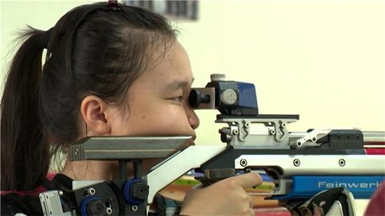 Xạ thủ 15 tuổi quốc tịch Việt - Nhật giành huy chương châu Á