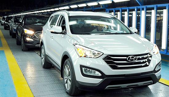 4.000 xe SantaFe xuất xưởng ở Việt Nam
