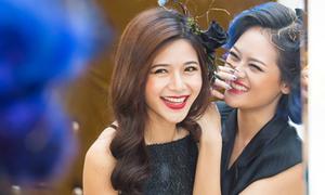 Hậu trường make up vui vẻ của 3 hot girl 'Bộ Tứ 10A8'