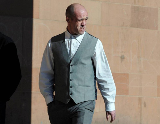 Stephen Gallagher, 35 tuổi, bị kết án 32 tháng tù giam. Ảnh: