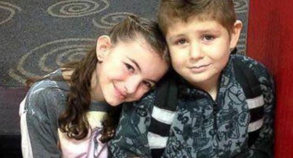 David Spisak Jr. hạnh phúc bên bạn gái Ayla. Ảnh: ABC News