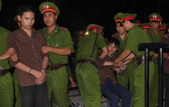 Nguyễn Hải Dương trong ngày bị định tội