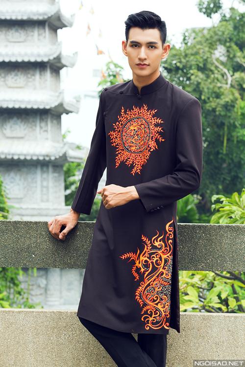 Bộ ảnh được thực hiện bởi photo: Bảo Lê, makeup: Thomas Huy, trang phục: Áo dài Minh Châu.