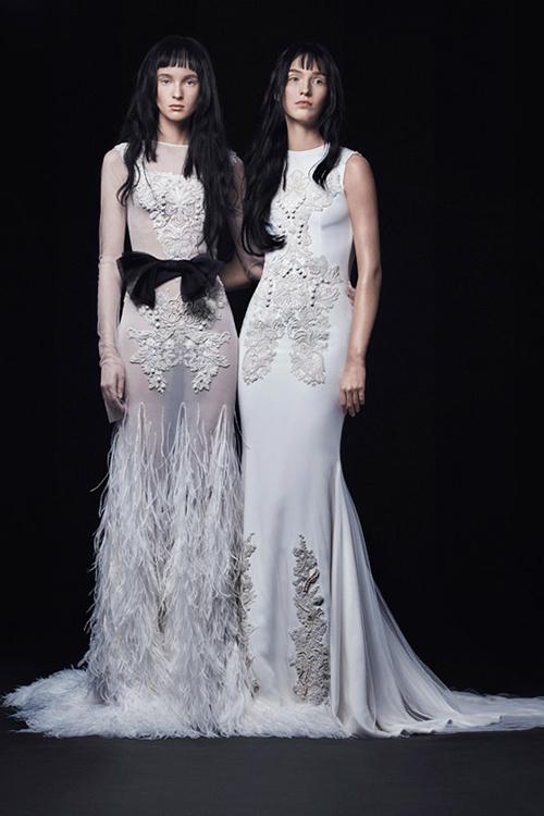 Mẫu váy cưới xuyên thấu tuyệt đẹp dành cho cô dâu sexy 5
