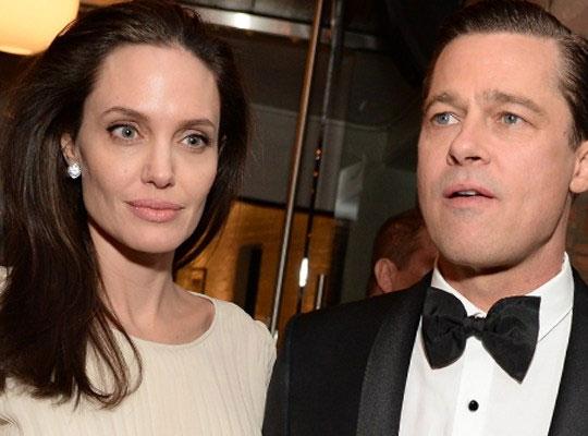 Angelina và Brad bị đồn xung đột nảy lửa trong những tháng qua.