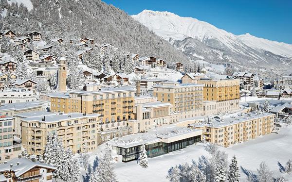 Khách sạn Kulm ở St Moritz đã trở thành địa điểm nghỉ đông nổi tiếng.