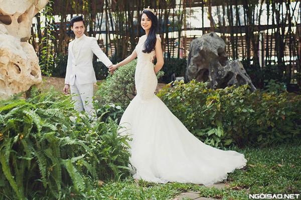 Gợi ý uyên ương chọn trang phục cưới đồng điệu sắc màu