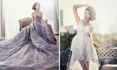 Hai phong cách váy cưới thời trang cho cô dâu