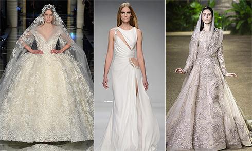 Váy cưới đẹp thần tiên ở tuần lễ thời trang Paris 2016