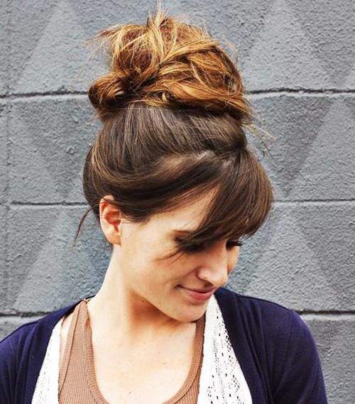 Những kiểu tóc búi \'tưởng khó mà dễ\'