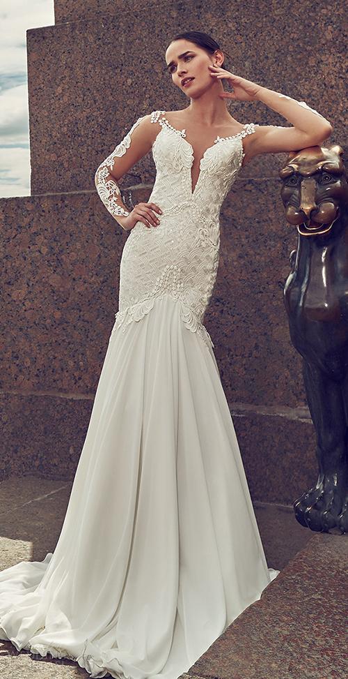 Những mầu váy cưới sexy hoàn hảo nhìn là mê 12