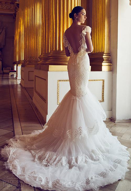 Những mầu váy cưới sexy hoàn hảo nhìn là mê 2