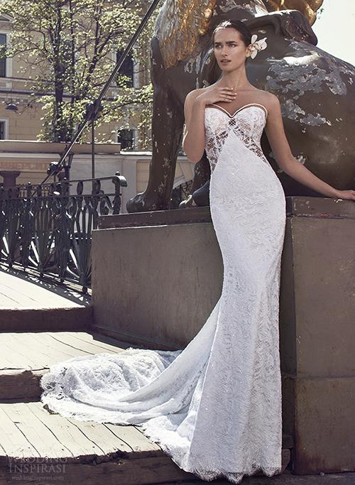 Những mầu váy cưới sexy hoàn hảo nhìn là mê 5