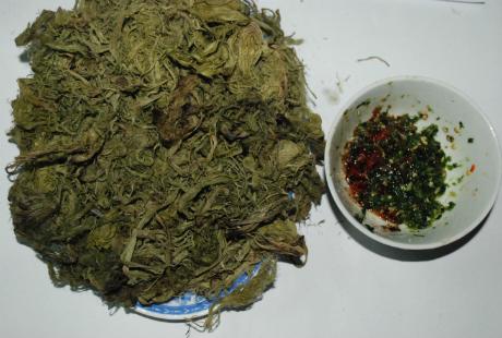 Rêu nướng, món ăn hấp dẫn nhiều người