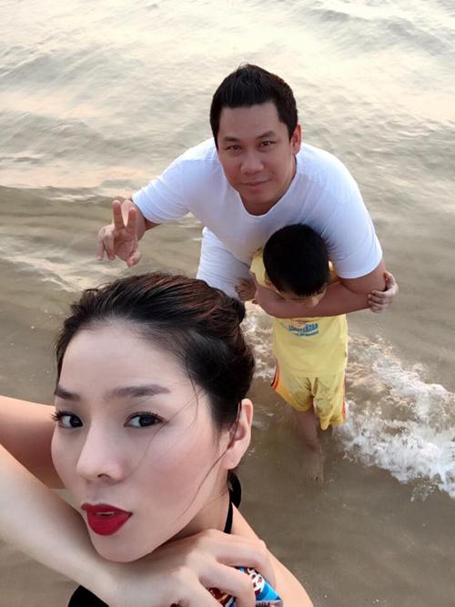 Gia đình Lệ Quyện đang có kỳ nghỉ xả hơi ở Phú Quốc.