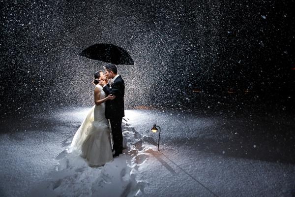 Những bức ảnh cưới vượt qua sợ hãi của cô dâu, chú rể 6