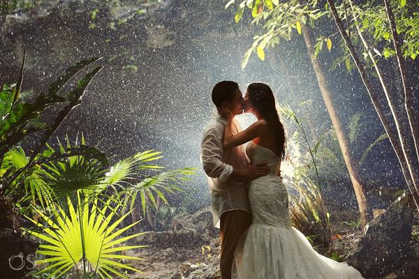 Những bức ảnh cưới vượt qua sợ hãi của cô dâu, chú rể 8