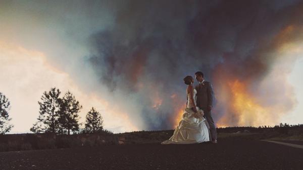 Những bức ảnh cưới vượt qua sợ hãi của cô dâu, chú rể 11