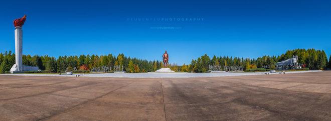 Đài tưởng niệm Samjiyon.