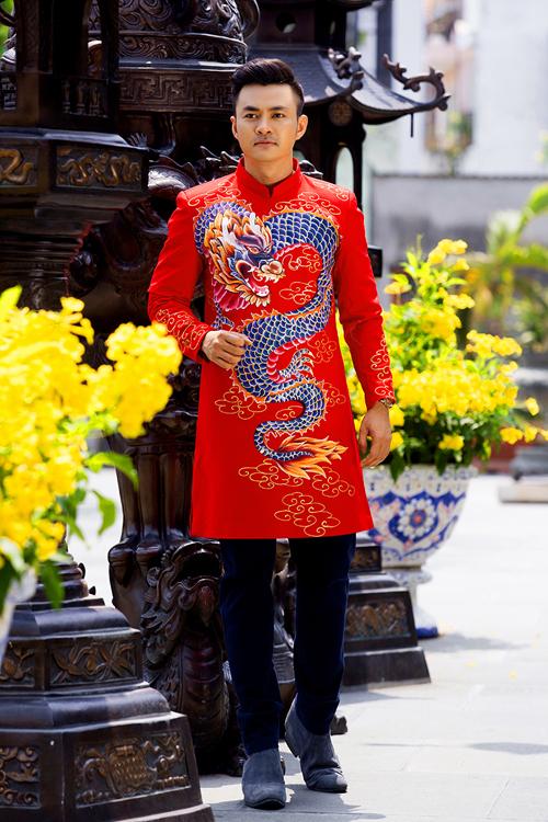 Bí quyết chọn áo dài Nam cách tân đẹp dành cho chú rể trong ngày cưới