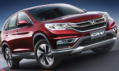 Honda trình làng CR-V 2.4 phiên bản cao cấp