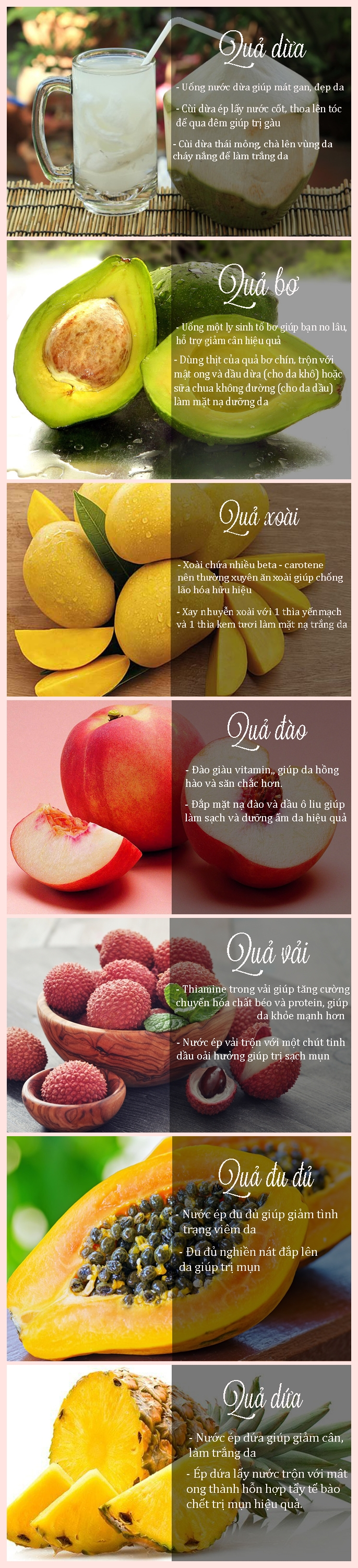 7 loại quả mùa hè 'ăn đến đâu đẹp đến đấy'