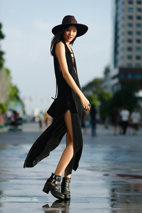 Điểm nhấn mới mẻ của Tuần lễ thời trang quốc tế Việt Nam 2016 là cuộc thi dành riêng cho các tín đồ thời trang.