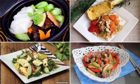 5 cách xào rau củ giòn ngon chống ngán