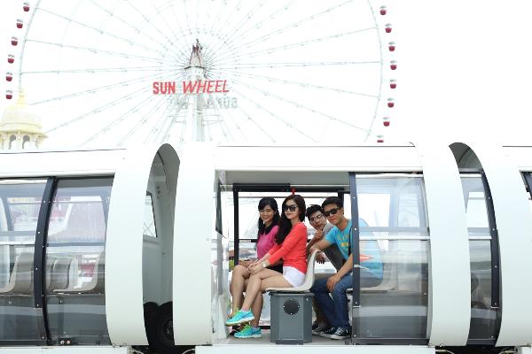 Ra mắt trò chơi mạo hiểm Singapore Sling tại Asia Park 4