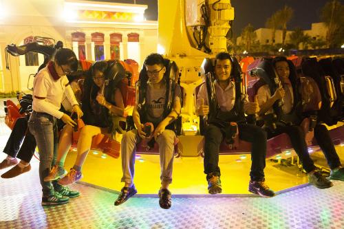 Ra mắt trò chơi mạo hiểm Singapore Sling tại Asia Park 1