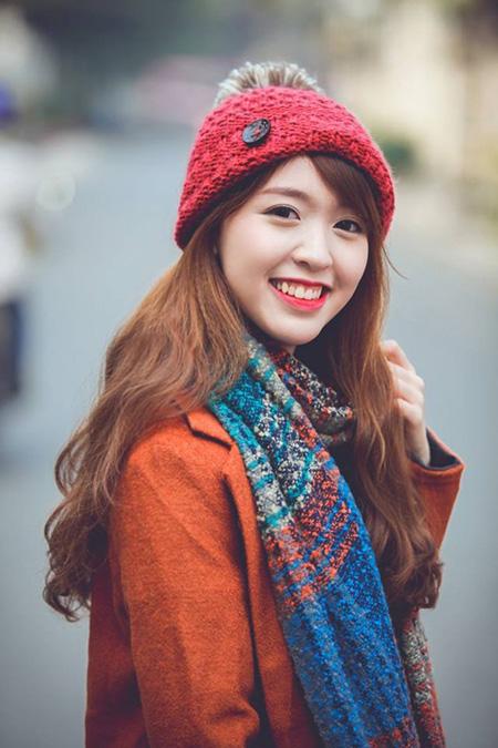 Nụ cười sưởi ấm mùa đông giá rét.