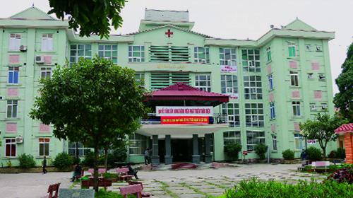 Bệnh viện Đa khoa huyện Hà Trung. Ảnh: Lam Sơn.