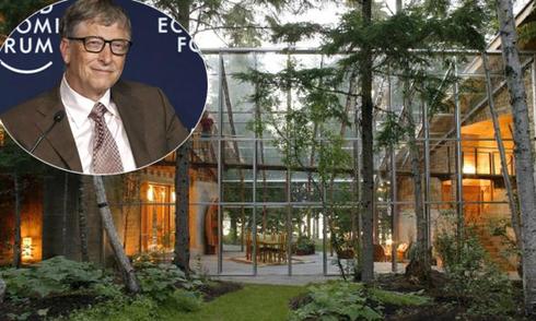 Bên trong dinh thự 200 triệu USD của tỷ phú Bill Gates