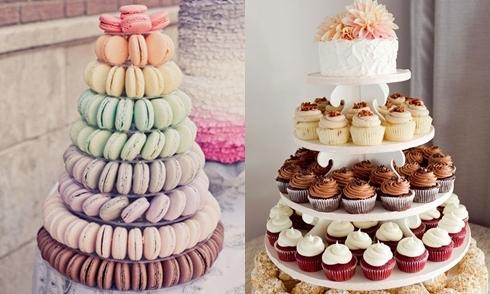Những ý tưởng thay thế bánh cưới lạ mà độc