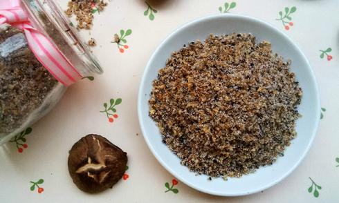 Tự làm hạt nêm từ nấm hương ngon sạch rẻ