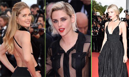 Mỹ nhân Hollywood hở táo bạo tại Cannes