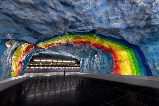 'Thế giới ngầm' đầy nghệ thuật ở Stockholm