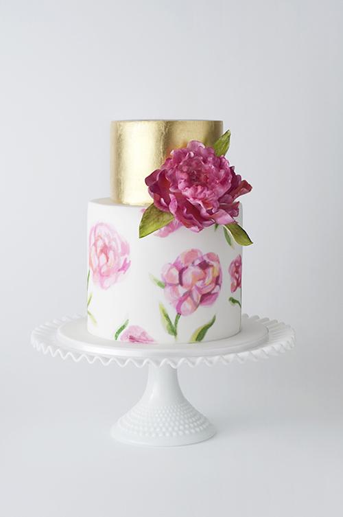[Caption]m. Mỗi hoa văn, chi tiết trên bánh đều là sự sáng tạo đáng yêu, nhã nhặn nhưng dễ thương.