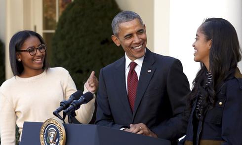 Tổng thống Obama: 'Tôi thích con gái'