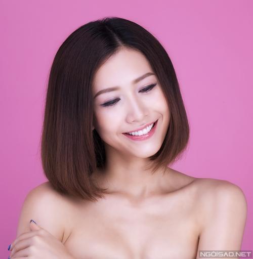 Phan Thu Quyên gợi ý 3 cách tạo kiểu tóc ngắn - Làm đẹp