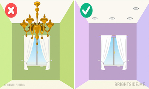 10 cách sử dụng đồ nội thất nếu muốn nhà trông rộng hơn