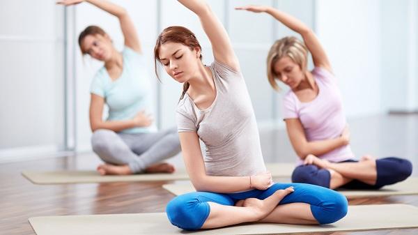 Luyện tập thể dục, thể thao giúp bạn có da sáng, dáng chuẩn.