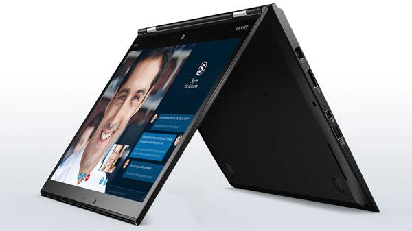 Máy tính xách tay ThinkPad X1 Yoga.
