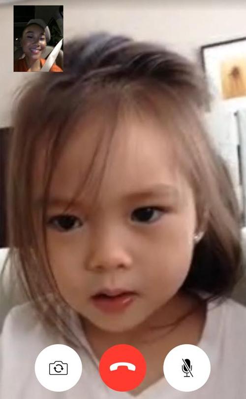 cap 6: Con gái Đoan Trang Em ơi, mẹ nhớ lắm!  Mẹ sắp về với em!  4 ngày nữa thôi nhé!