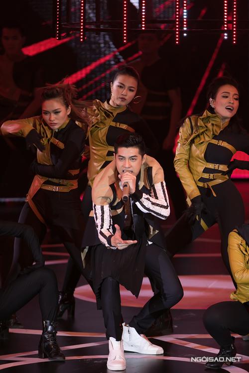 Tiết mục của Noo Phước Thịnh cũng là phần trình diễn được khán giả mong đợi nhiều nhất.